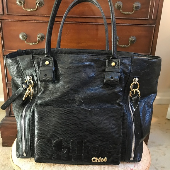 5856e64a2e1 Chloe Handbags - AUTHENTIC CHLOE ECLIPSE TOTE